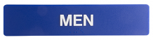 "MEN SIGN STRIP 6"" X 1-3/4"""