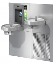 BI-LEVEL MODULAR FTNS W/ BUILT-IN SENSOR ACTIVATED BOTTLE FILLER