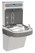 SINGLE FILTERED WATER COOLER AND EZH2O BOTTLE FILLING STATION (STAINLESS STEEL)