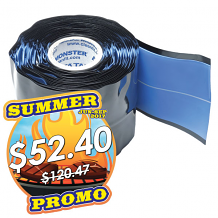 "BLUE MONSTER COMPRESSION SEAL TAPE 2"" X 12 FT"