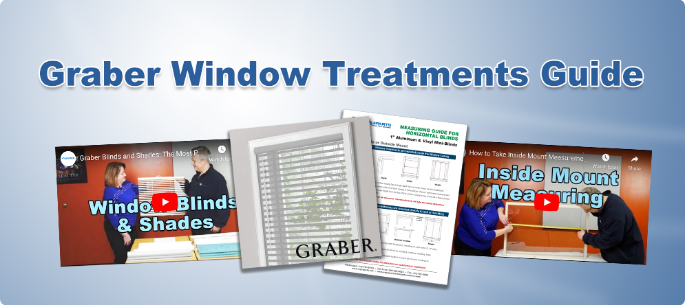 Equiparts Graber Window Treatments Guide