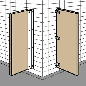 Toilet Partition And Repair Parts For Sale - Pvc bathroom partitions