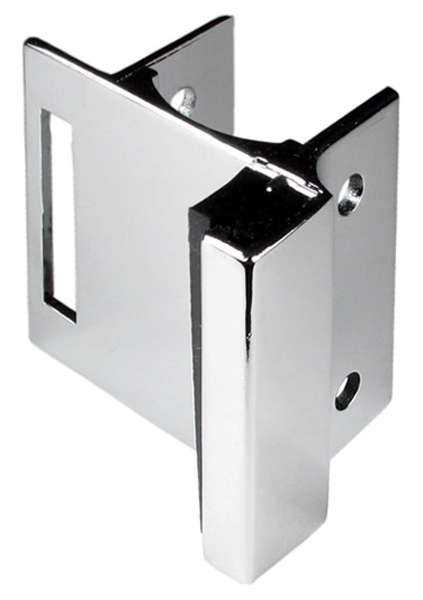 CP STRIKE & KEEPER - USED WITH SLIDE LATCH FOR POWDER COATED STEEL