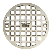 """4-5/8"""" ROUND REPLACEMENT GRATE W/SCREWS"""