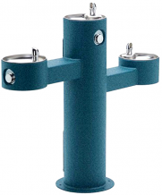 HALSEY TAYLOR - OUTDOOR DRINKING FOUNTAIN - TRIPLE BOWL