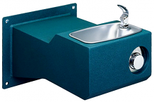 HALSEY TAYLOR - OUTDOOR DRINKING FOUNTAIN - WALL MOUNT