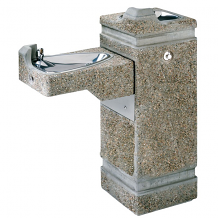 HAWS - DRINKING FOUNTAIN W/ PNEUMATIC FREEZE-RESISTANT VALVE SYSTEM
