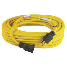 50' 12/3 EXTRA HEAVY DUTY OUTDOOR EXTENSION CORD