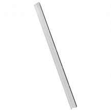 """STAINLESS STEEL CONTINUOUS TWO EAR WALL BRACKET 3/4"""" X 57"""""""