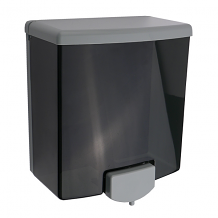 SOAP DISPENSER 2 TONE BLK/GREY