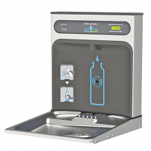 RETRO-FIT SENSOR OPERATED BOTTLE FILLING STATION W/ FILTER
