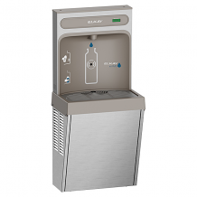 EZH2O SURFACE MT BOTTLE FILLING STATION REFRIGERATED NON FILTERED S/S