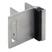 STAINLESS STEEL STRIKE & KEEPER USED WITH SLIDE LATCH