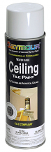 WHITE CEILING TILE PAINT - OLD