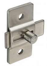 STAMPED S/S SLIDE LATCH