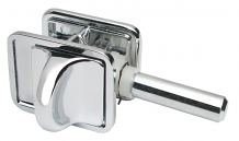 CONCEALED PARTITION LATCH SET
