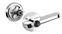 ADA LEVER PARTITION LATCH - CONCEALED