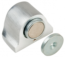DULL CHROME MAGNETIC STOP & CATCH