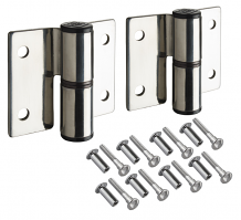CP S/S SURFACE MT PARTITION HINGES-LH INSWING