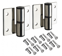 CP S/S SURFACE MT PARTITION HINGES-RH INSWING