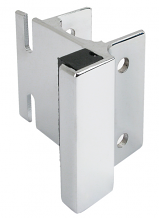 CP STRIKE & KEEPER - USED WITH THROW OR SLIDE LATCH FOR POWDER COATED STEEL