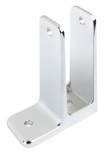 """SINGLE EAR WALL BRACKET 1"""" x  3-1/2"""" FOR TOILET PARTITION"""