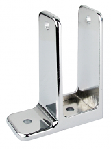 """SINGLE EAR WALL BRACKET 1-1/4"""" X 3-1/2"""" FOR TOILET PARTITION"""
