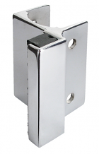 CP STRIKE & KEEPER - USED WITH FLAT BAR SLIDE LATCH FOR POWDER COATED STEEL