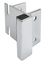 CP STRIKE & KEEPER - USED WITH THROW OR SLIDE LATCH FOR LAMINATE ONLY