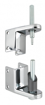 PARTITION HINGE SET W/PINS