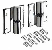 SURFACE MT PARTITION HINGES-RH INSWING