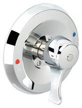 SHOWER VALVE WITH 1/4 TURN STOPS