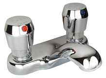 """4"""" CP METERED LAVATORY FAUCET"""