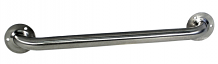 """S/S GRAB BAR 18"""" STRAIGHT EXPOSED FLANGE"""