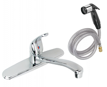 CP SINGLE LEVER KITCHEN FAUCET W/SPRAY