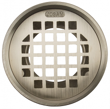 """5-17/64"""" BRASS REPLACEMENT GRATE/STRAINER"""