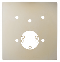 STABILIZER SEAL GASKET FOR WALL MOUNTED TOILET