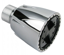 RESIDENTIAL CP ECONO SHOWER HEAD w/ BRASS BALL JOINT