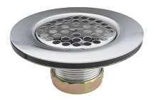 "HD FLAT SINK STRAINER FOR 3-1/2"" OPENING"