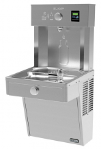 VANDAL RESISTANT WATER COOLER AND EZH2O BOTTLE FILLING STATION