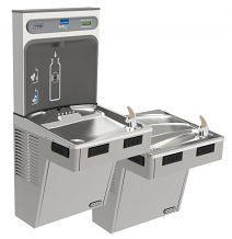BI-LEVEL ADA WATER COOLER AND EZH2O BOTTLE FILLING STATION