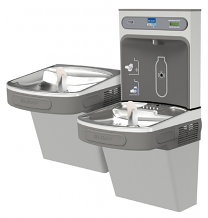 BOTTLE FILLING STATION W/VERSATILE BI-LEVEL ADA COOLER